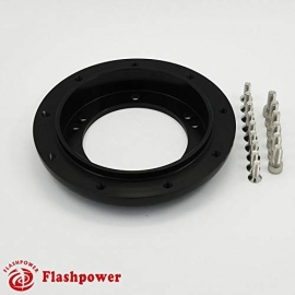 "0.5"" Steering Wheel Hub Adapter Conversion Spacer Black"