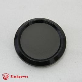 Color Match Horn Button Black w/ Dark Grey Wrap