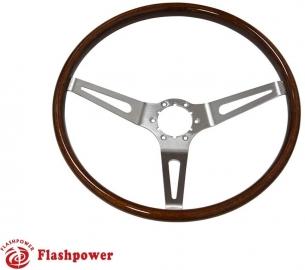 15'' GM Muscle Car Wood Steering Wheel