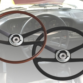 Porsche steering wheels