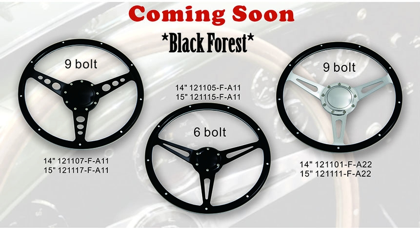 Black Forest Steering wheels